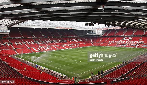 A general view of the interior of Old Trafford the home of Manchester United on November 11 2003