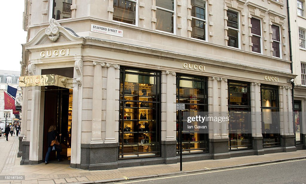 05db6480a2 General view of the interior of the refurbished Gucci London Flagship Store  on Bond Street on