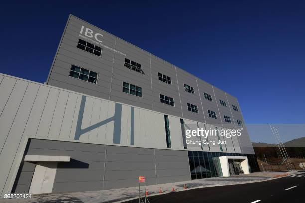 A general view of the International Broadcasting Centre ahead of the PyeongChang 2018 Winter Olympic Games on October 30 2017 in Pyeongchanggun South...