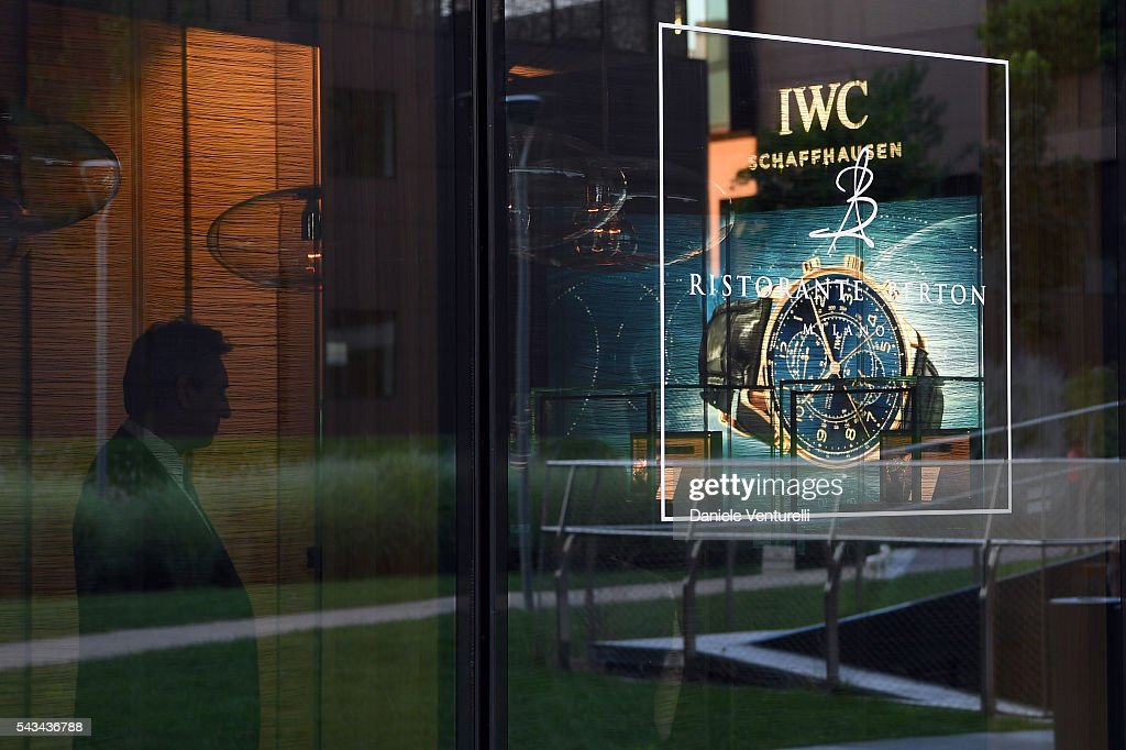 General view of the IWC Boutique Opening Dinner on June 28, 2016 in Milan, Italy.