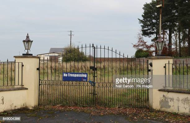 A general view of the Jessbrook Equestrian Centre which was owned by the convicted drug trafficker John Gilliganand is to be sold by The Criminal...