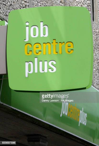 General view of the Job Centre Plus on Benalder St in Glasgow as figures released today show that unemployment has risen to 24 million after a record...