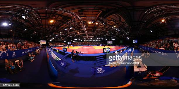 A general view of the Judo at the SECC Precinct during day two of the Glasgow 2014 Commonwealth Games on July 25 2014 in Glasgow United Kingdom
