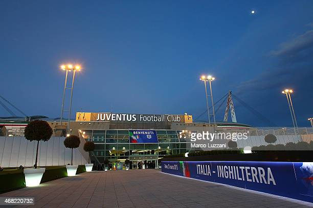 A general view of the Juventus Arena before the international friendly match between Italy and England on March 31 2015 in Turin Italy