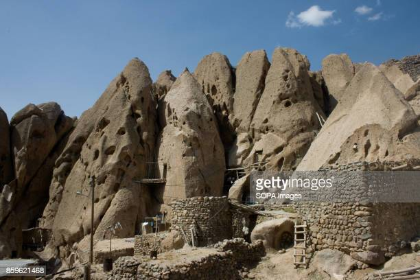 A general view of the Kandovan village The tiny village of Kandovan in the Iranian East Azerbaijan Province is known for its cliff dwellings not...