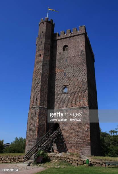 General view of the Karnan Tower in Helsingborg