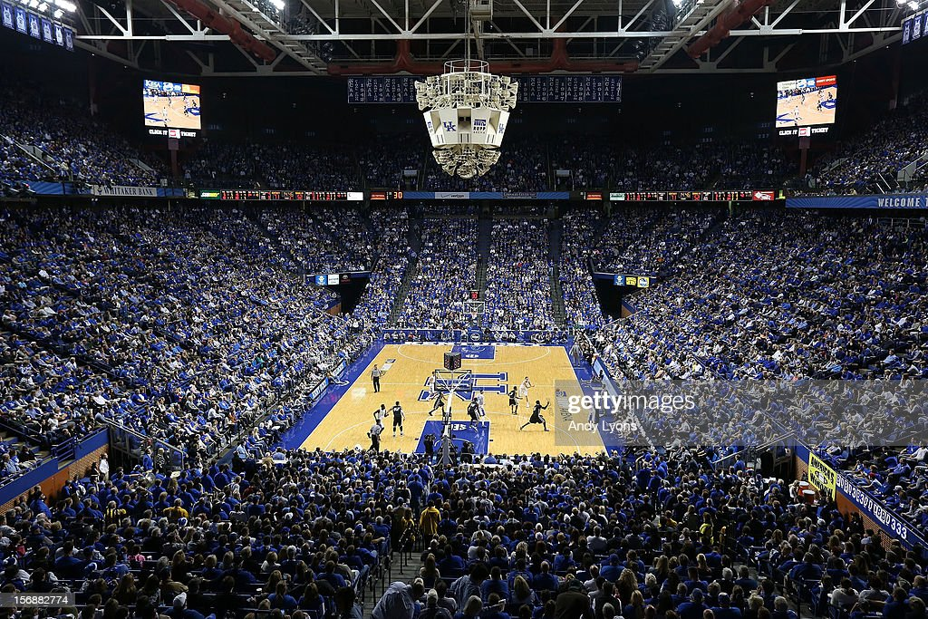 General view of the Kentucky Wildcats game against the Long Island Blackbirds at Rupp Arena on November 23, 2012 in Lexington, Kentucky.