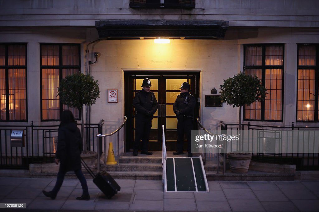 A general view of the King Edward VII Private Hospital on December 5, 2012 in London, England. Catherine, Duchess of Cambridge is spending a third day in the King Edward VII Hospital after the announement of her pregnancy and the fact she was suffering from hyperemesis gravidarum or acute morning sickness.