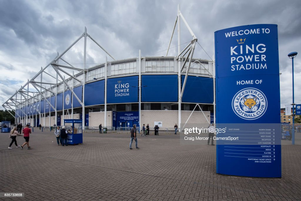A general view of the King Power Stadium, home of Leicester City during the Premier League match between Leicester City and Brighton and Hove Albion at The King Power Stadium on August 19, 2017 in Leicester, England.