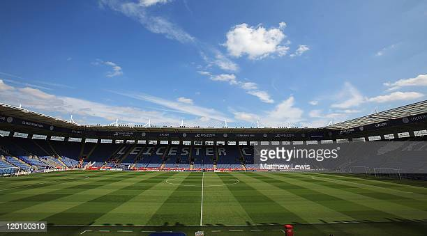 A general view of the King Power Stadium on July 30 2011 in Leicester England