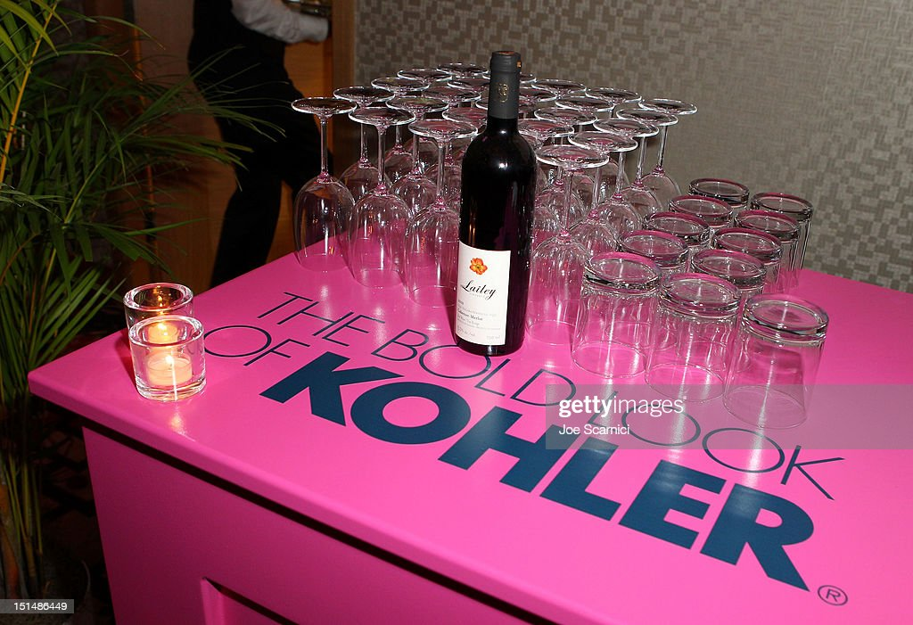 A general view of the Kohler display at amfAR Cinema Against AIDS TIFF 2012 during the 2012 Toronto International Film Festival at Shangri-La Hotel on September 7, 2012 in Toronto, Canada.