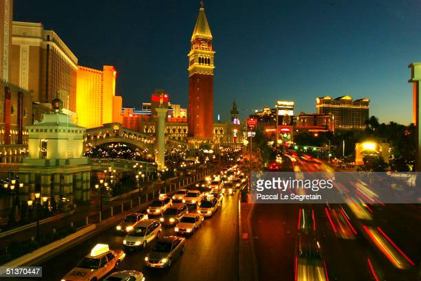 General view of the Las Vegas Boulevard September 17 in Las Vegas