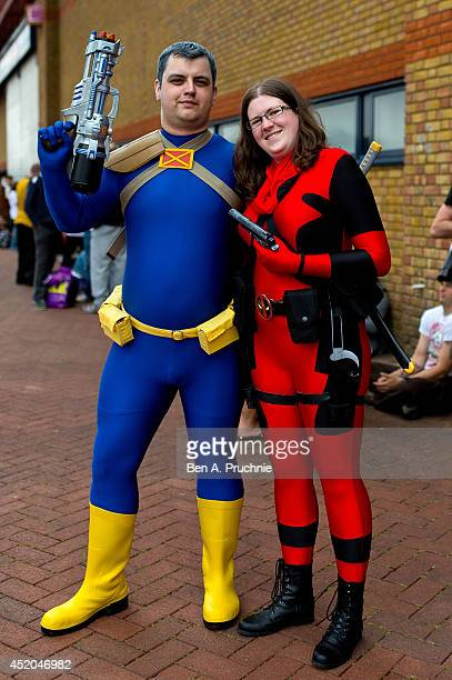 A general view of the launch of the London Film and Comic Con at Earls Court on July 11 2014 in London England