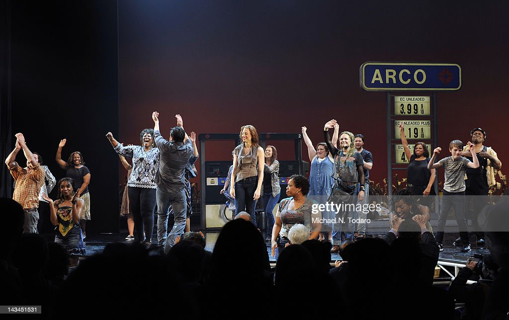 General view of the 'Leap Of Faith' Broadway opening night at St. James Theatre on April 26, 2012 in New York City.
