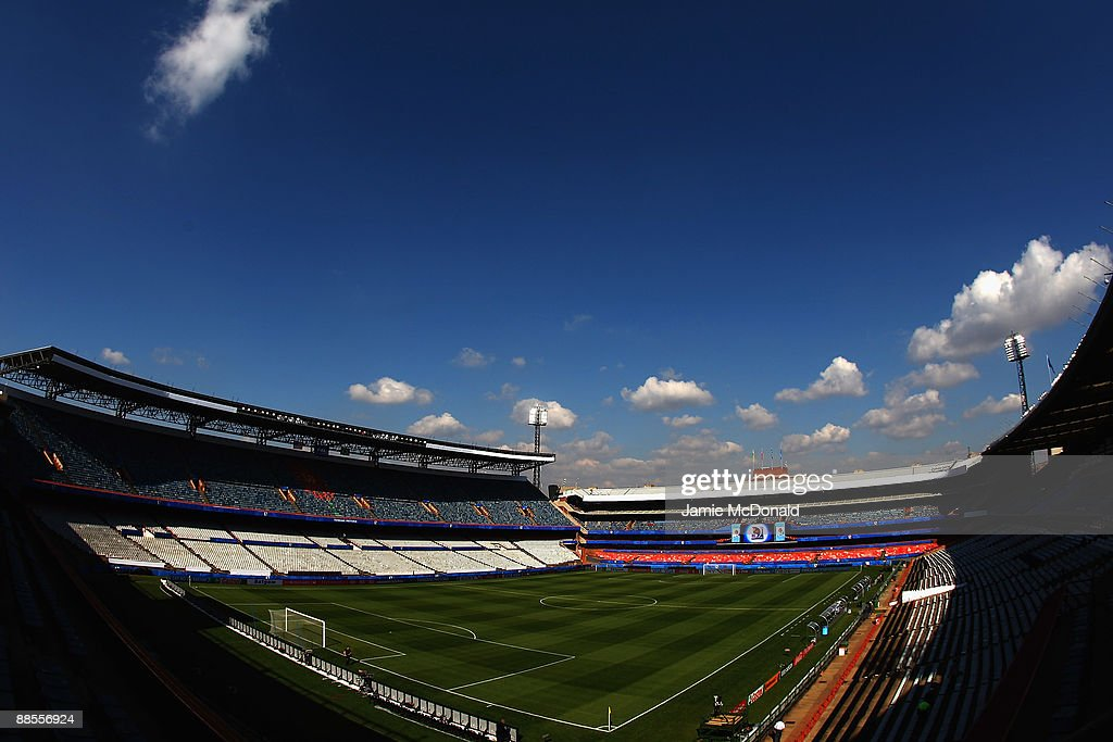 A general view of the Loftus Versfeld Stadium prior to the FIFA Confederations Cup match between USA and Brasil at Loftus Versfeld Stadium on June 18...