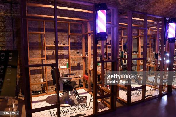 A general view of the L'Oreal Paris Men Expert and Movember Charity Partnership event at The Bike Shed on October 31 2017 in London England