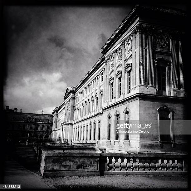 A general view of the Louvre on February 26 2014 in Paris France