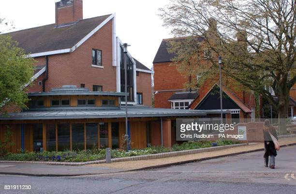 A general view of the Lucy Cavendish College at Cambridge University where Julie Simpson lost the sight in one eye and suffered a punctured lung...