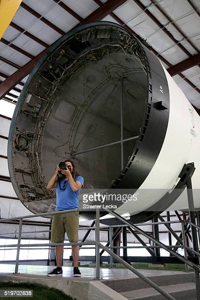 A general view of the Lyndon B Johnson Space Center on April 3 2016 in Houston Texas