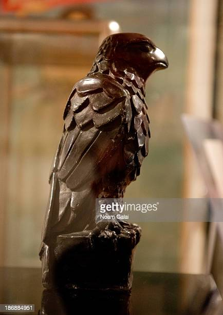 General view of the Maltese Falcon at Guernsey's Auction House on November 4 2013 in New York City