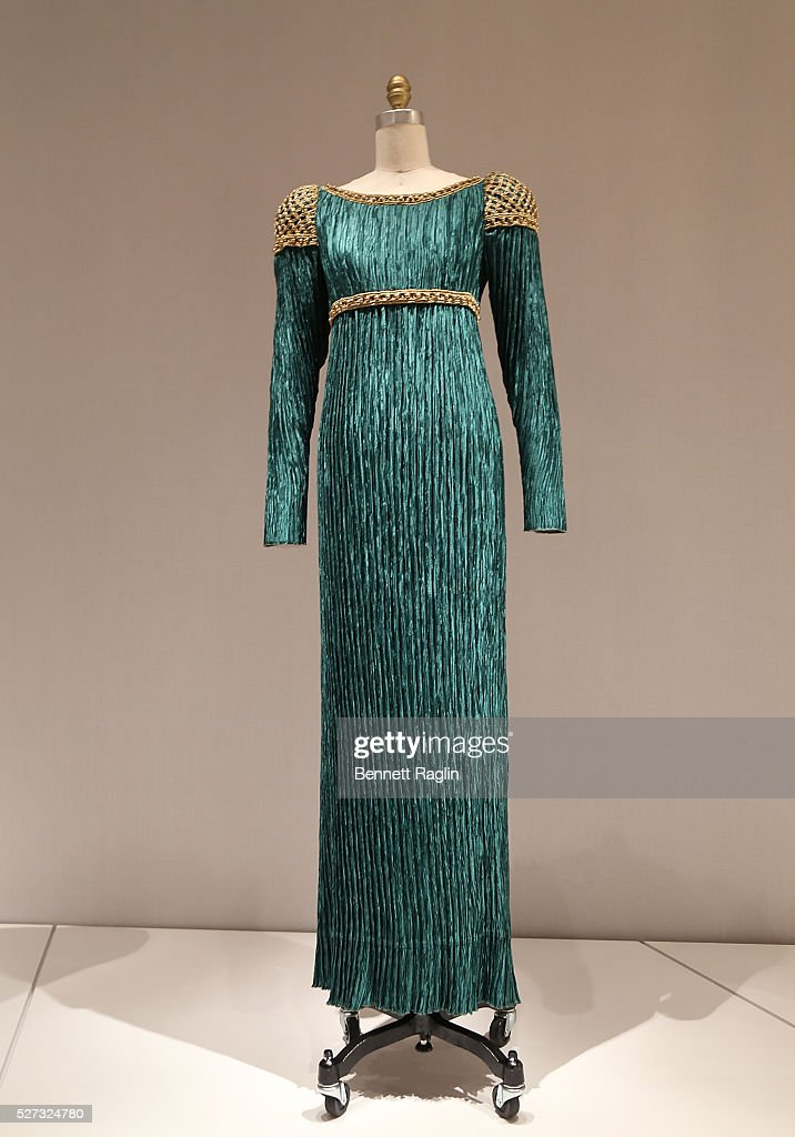 A general view of the 'Manus x Machina: Fashion In An Age Of Technology' - Press Preview at Metropolitan Museum of Art on May 2, 2016 in New York City.