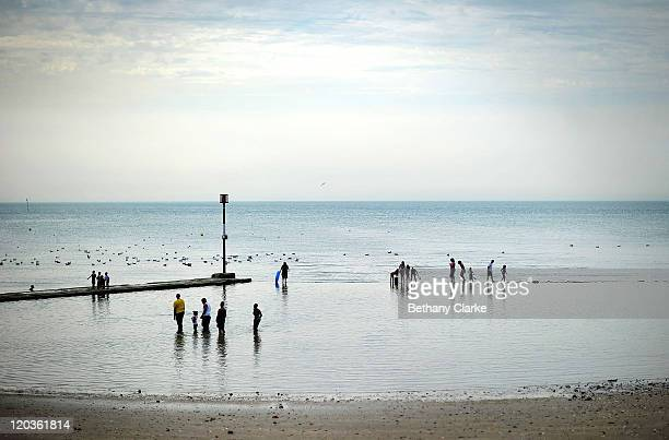 A general view of the Margate Main Sands beach on August 2 2011 in Margate England The east Kent seaside town of Margate is currently undergoing...