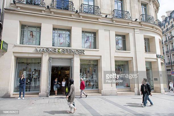 Marks and spencer france stock photos and pictures getty for Adresse mark and spencer paris
