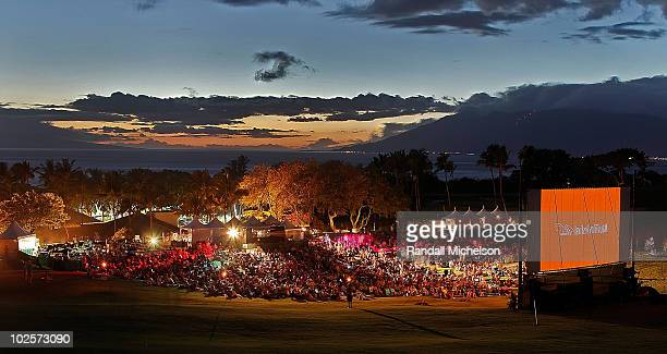 General View of the Maui Film Festival Celestial Cinema on June 18 2010 in Wailea Hawaii