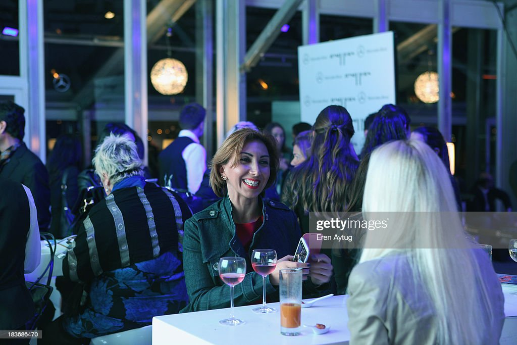 A general view of the Maybelline New York By DB Berdan afterparty during Mercedes-Benz Fashion Week Istanbul s/s 2014 presented by American Express on October 8, 2013 in Istanbul, Turkey.