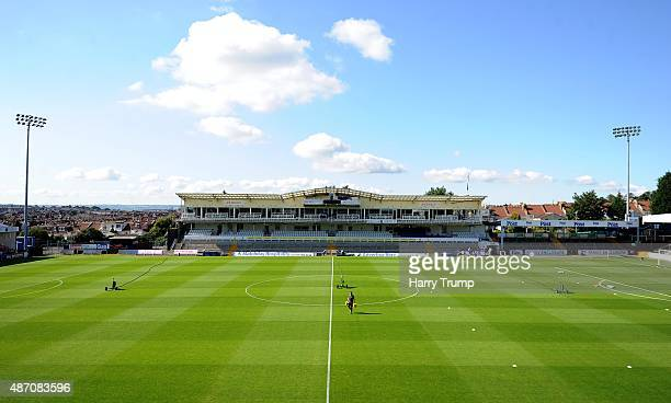 General view of the Memorial Stadium prior to kick off in the Sky Bet League Two between Bristol Rovers and Oxford United at Memorial Stadium on...