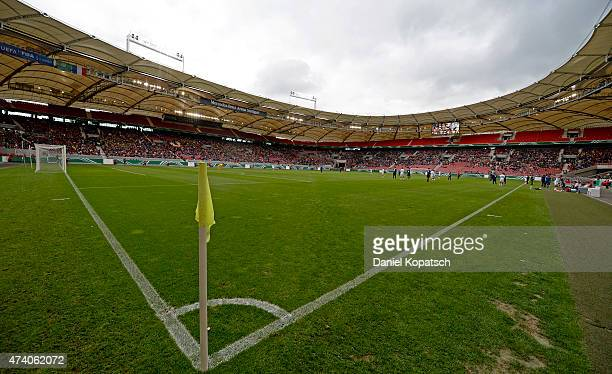 General view of the MercedesBenz Arena during the International Friendly match between U16 Germany and U16 France at MercedesBenz Arena on May 20...
