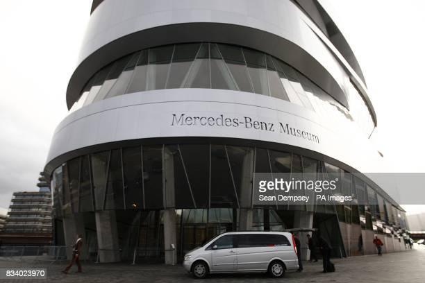 General view of the MercedesBenz Museum Stuttgart