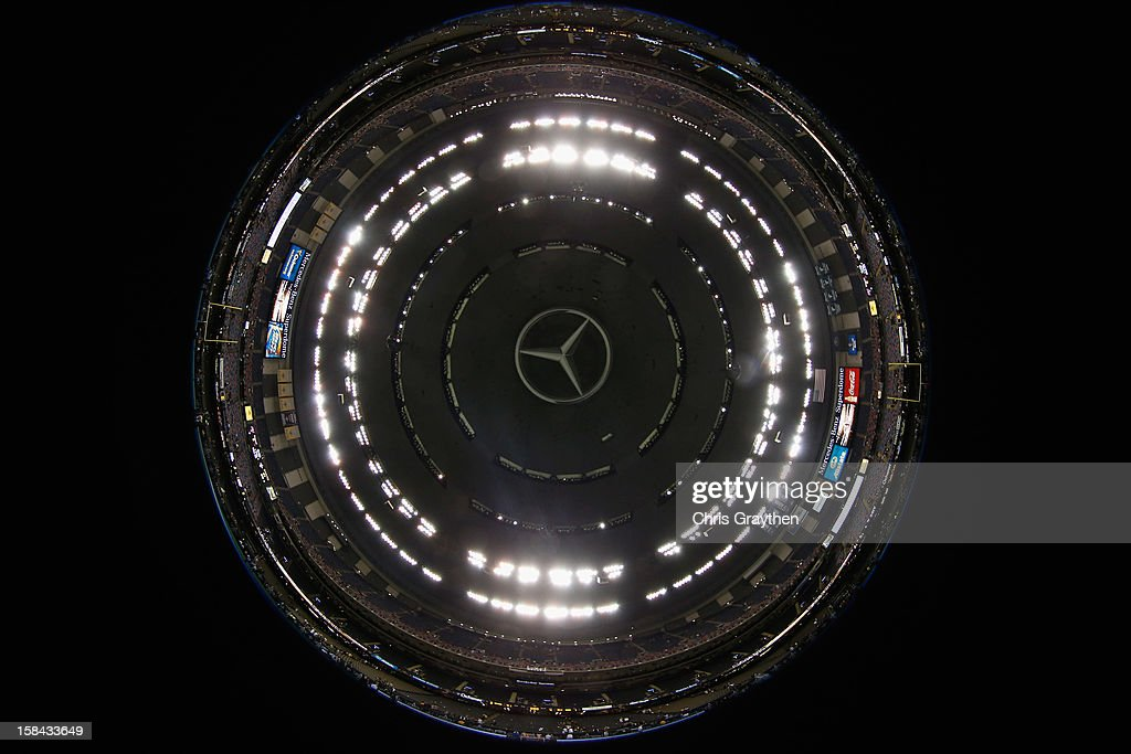 A general view of the Mercedes-Benz Superdome on December 16, 2012 in New Orleans, Louisiana.