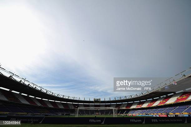 A general view of the Metropolitano Roberto Melendez stadium prior to the FIFA U20 World Cup match between Brazil and Panama at the Metropolitano...