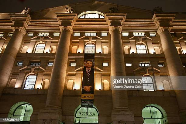 A general view of the Milan Stock Exchange on January 16 2014 in Milan Italy
