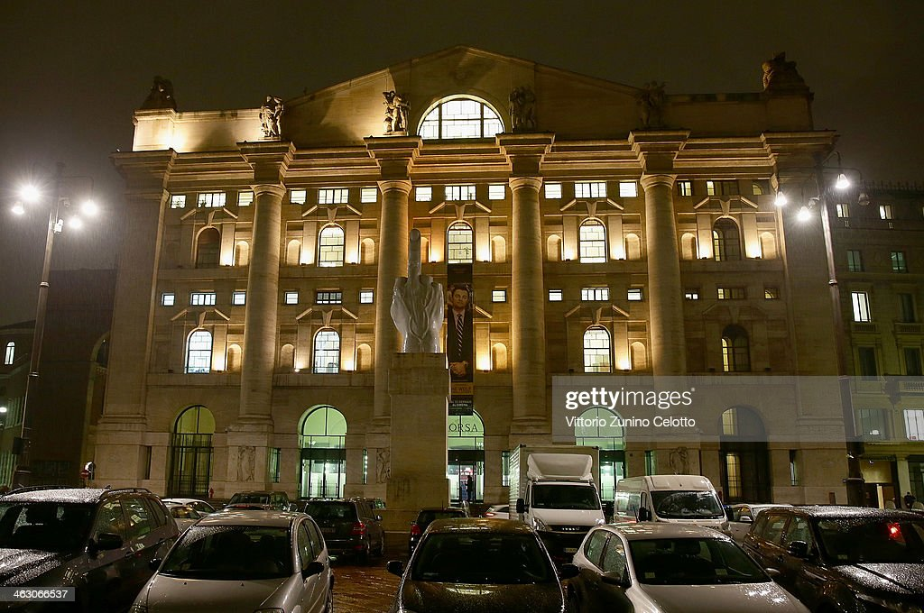 A general view of the Milan Stock Exchange on January 16, 2014 in Milan, Italy.