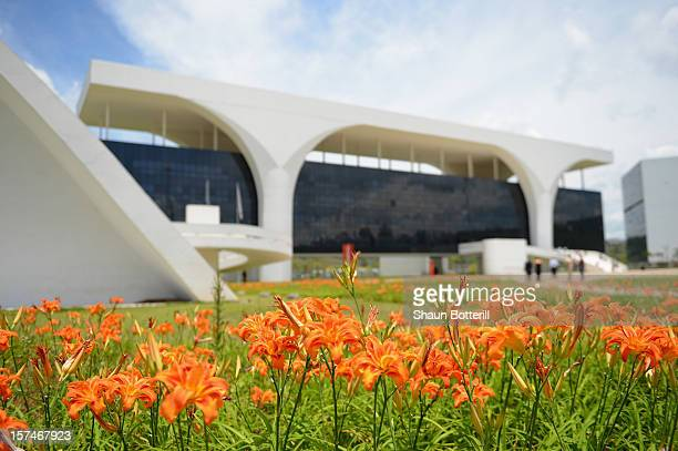 A general view of the Minas Gerais Government buildings Palacio da Liberdade on December 3 2012 in Belo Horizonte Brazil