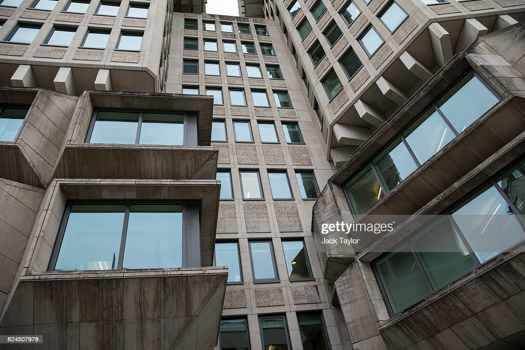 A general view of the Ministry of Justice on November 17, 2016 in London, England. Brutalism is a style of architecture, which was popular between the 1950s and 1970s, and is typically characterised by large forms and exposed concrete or brickwork. In a speech this month British Transport Minister John Hayes described such modernist architecture as 'aesthetically worthless' and called for a 'revolt against the Cult of Ugliness'.