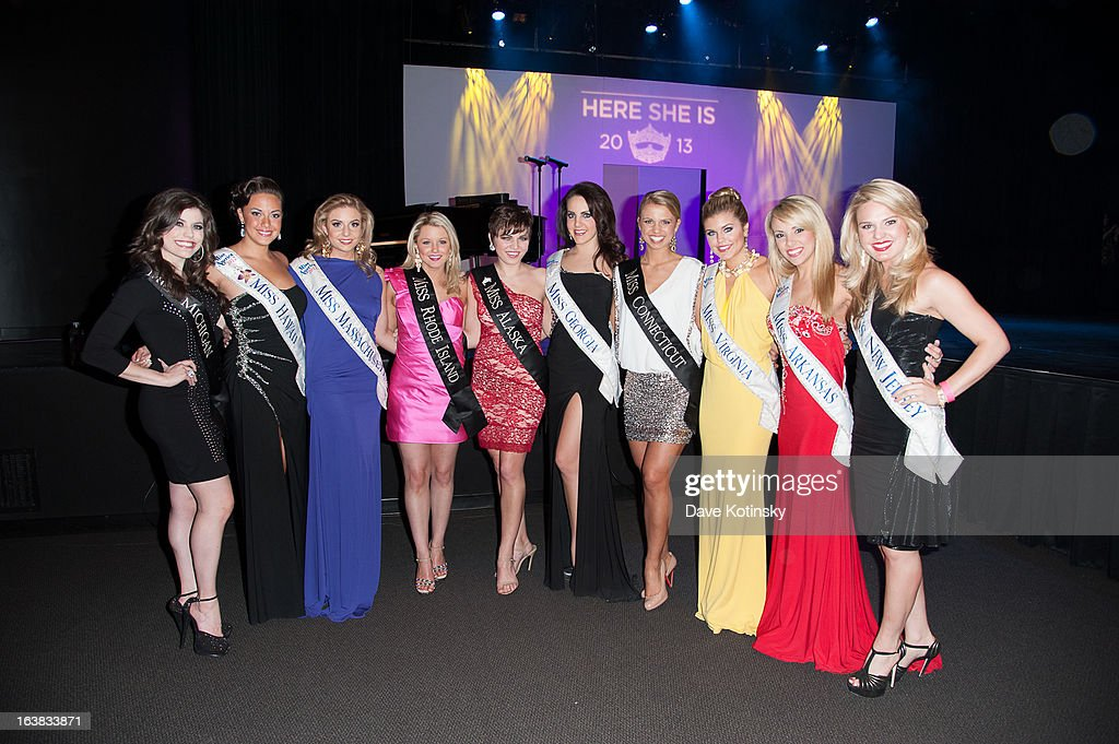 A general view of the Miss America 2013 Mallory Hagan Official Homecoming Celebration at The Fashion Institute of Technology on March 16, 2013 in New York City.