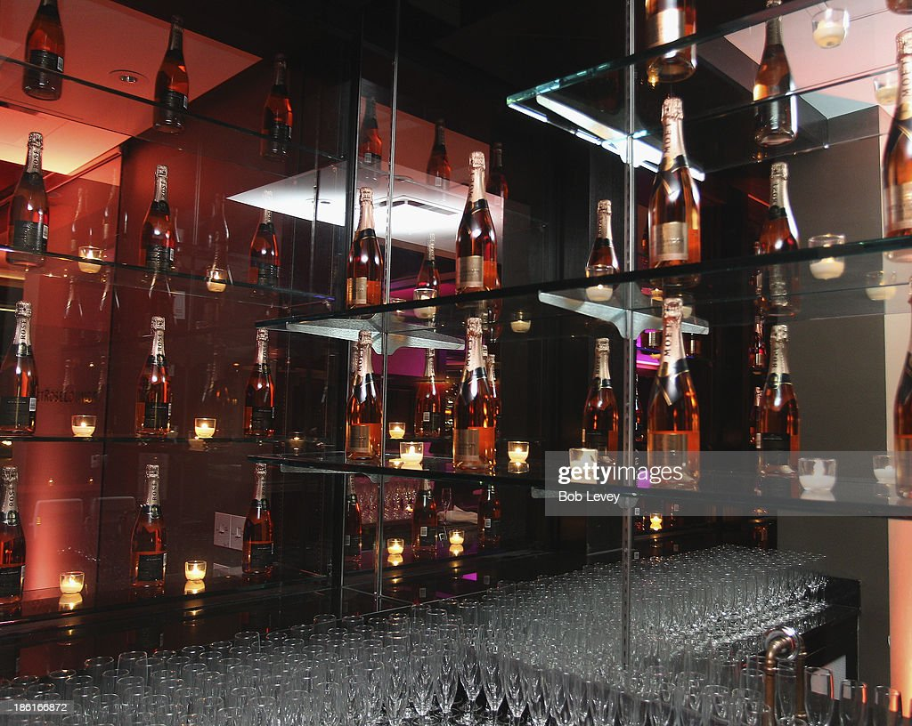 A general view of the Moet Rose Lounge Houston Hosted By Ciara at The Hotel Derek on October 28, 2013 in Houston, Texas.