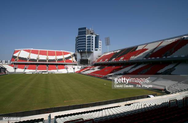 General view of the Mohammed Bin Zayed Stadium