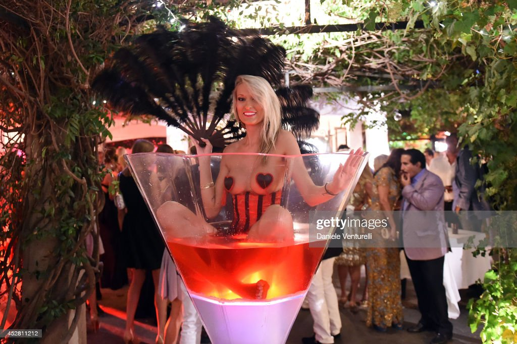 General view of the Monika Bacardi Summer Party 2014 St Tropez at Les Moulins de Ramatuelle on July 27, 2014 in Saint-Tropez, France.