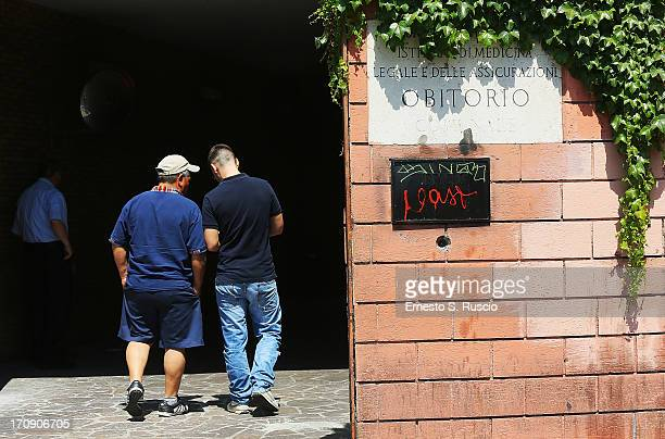 A general view of the mortuary of Policlinico Umberto I hospital on June 20 2013 in Rome Italy 'The Sopranos' actor James Gandolfini died of a...
