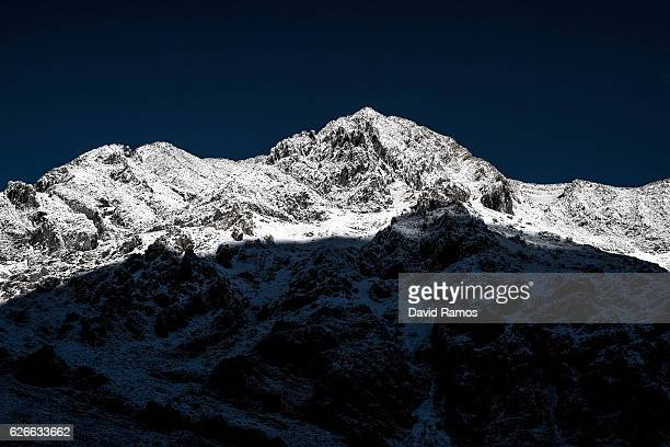 A general view of the mountains of the coal region of Northern Leon on November 25 2016 in Caldas de Luna Spain The struggling coal mining industry...