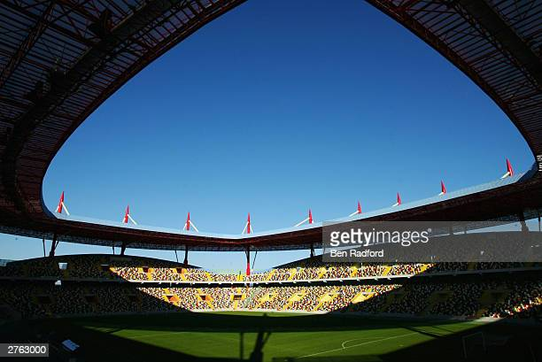 General view of the Municipal Stadium home to SC Beira Mar taken during a photoshoot held on November 18 2003 in Aveiro Portugal Aveiro is one of the...