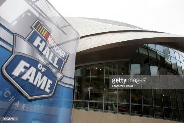 A general view of the NASCAR Hall of Fame Grand Opening at the NASCAR Hall of Fame on May 11 2010 in Charlotte North Carolina