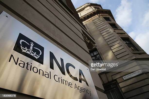 A general view of The National Crime Agency building in Westminster on October 7 2013 in London England The NCA replaces SOCA the Serious Organised...
