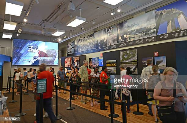 A general view of the National September 11 Museum on September 8 2013 in New York NY Following the 9/11 attacks in New York the former location of...