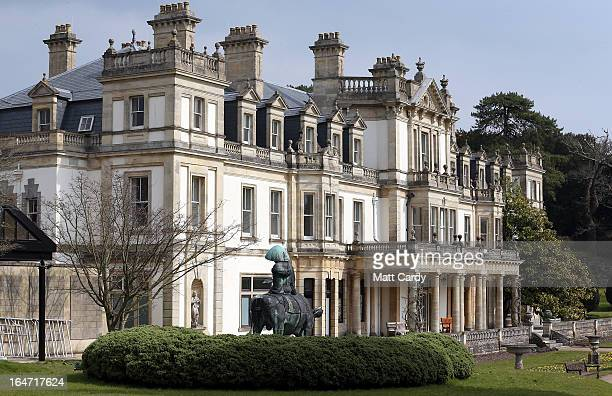 A general view of The National Trust's Dyffryn House is seen on March 27 2013 near Cardiff Wales The historic Dyffryn House which has undergone a...