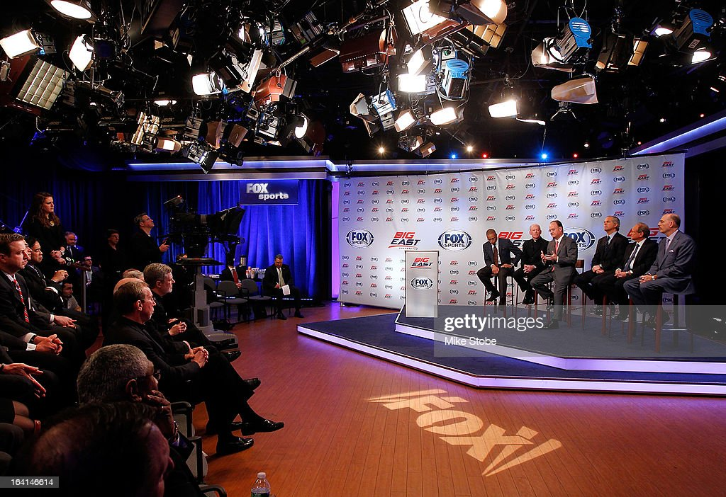 A general view of the New Big East Conference & Fox Sports Media Group Press Event on March 20, 2013 in New York City.